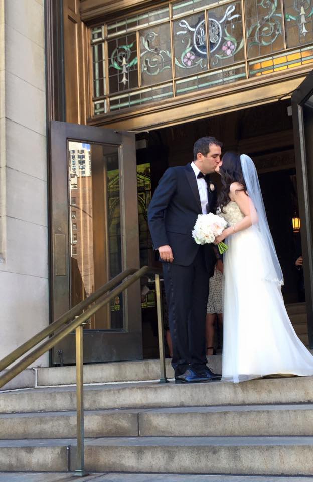 Juliet & Mike - New York Athletic Club